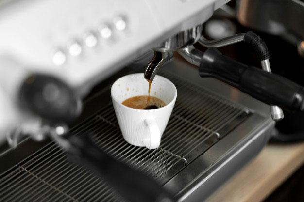 Biurowy ekspres do kawy