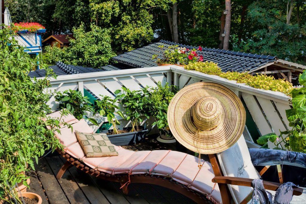 Leżak na balkon