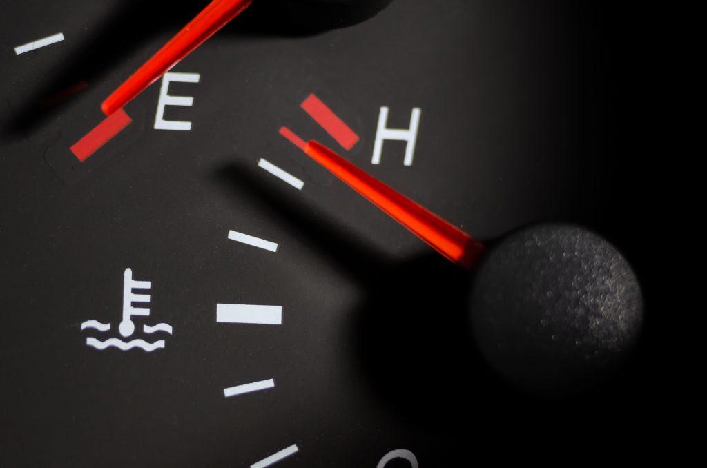Termometr samochodowy